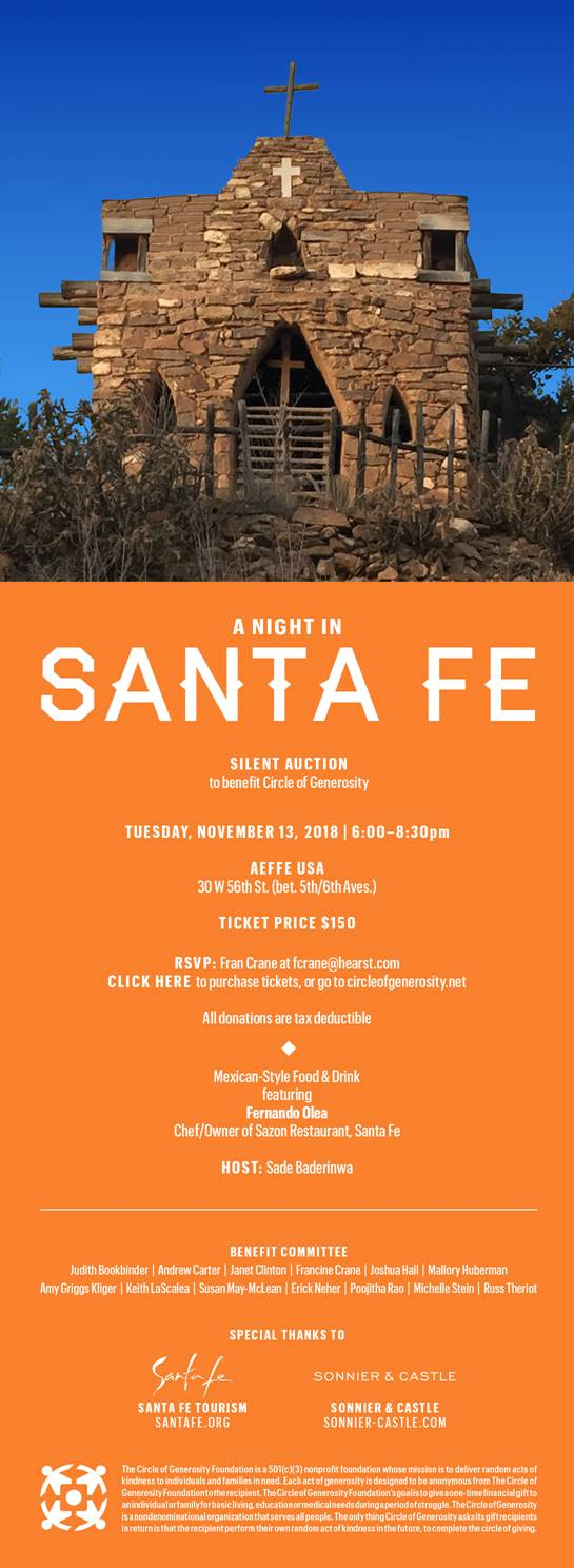 A Night in Santa Fe